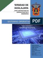 SISTEMAS OPERATIVOS (administración de procesos)