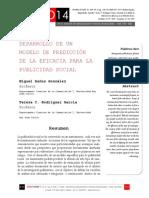 Icono14. Nº13. Desarrollo de un Modelo de Predicción de la Eficacia para la Publicidad Social