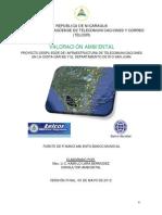 Valoracion Ambiental - Proyecto Despliegue de Infraestruc de Telecom en Costa Caribe y Dpto Río San Juan