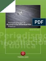 Periodismo por el acceso a la información pública. Dossier de casos