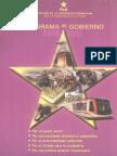 Programa de Gobierno 2008-2012