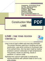 Construction Material LIME