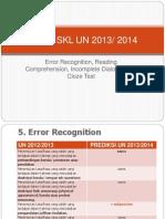 Kisi-Kisi Prediksi UN 2014