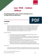 Ovum TCS Indian Passport Office