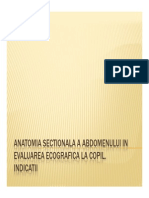 Anatomia Sectionala a Abdomenului in Evaluarea Ecografica La Copil - O Rizea