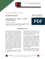 """Icono14. Nº13. Presentación """"Publicidad Social"""""""