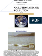 Water Pollution and Society