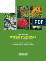 The Use of Herbal Medicines in Primary Health Care