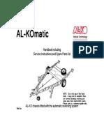AL-KO Automatic Reversing System Operation Manual