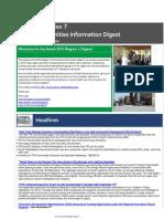 EPA Region 7 Communities Information Digest - Sept 12, 2014