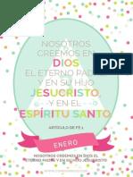 """Primaria 2015 """"Sé que mi Salvador Vive"""" - Escrituras Mensuales"""