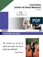 MCS-P-008 Curso CO-010 Gestión de Datos Mestros