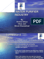 Indian Water Purifier Industry