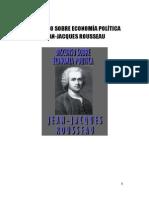 Discurso Sobre Economía Política Jean-jacques Rousseau