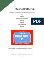 Super Mario Bros. 2 Piano Transcriptions