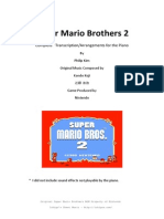 Super Mario Bros. 2 Piano Transcriptions