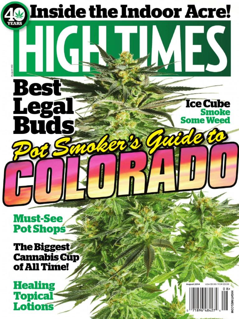 High Times - August 2014 USA | Cannabis (Drug) | Smoking