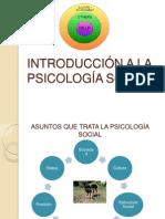 Introduccion a La Psicologia Social