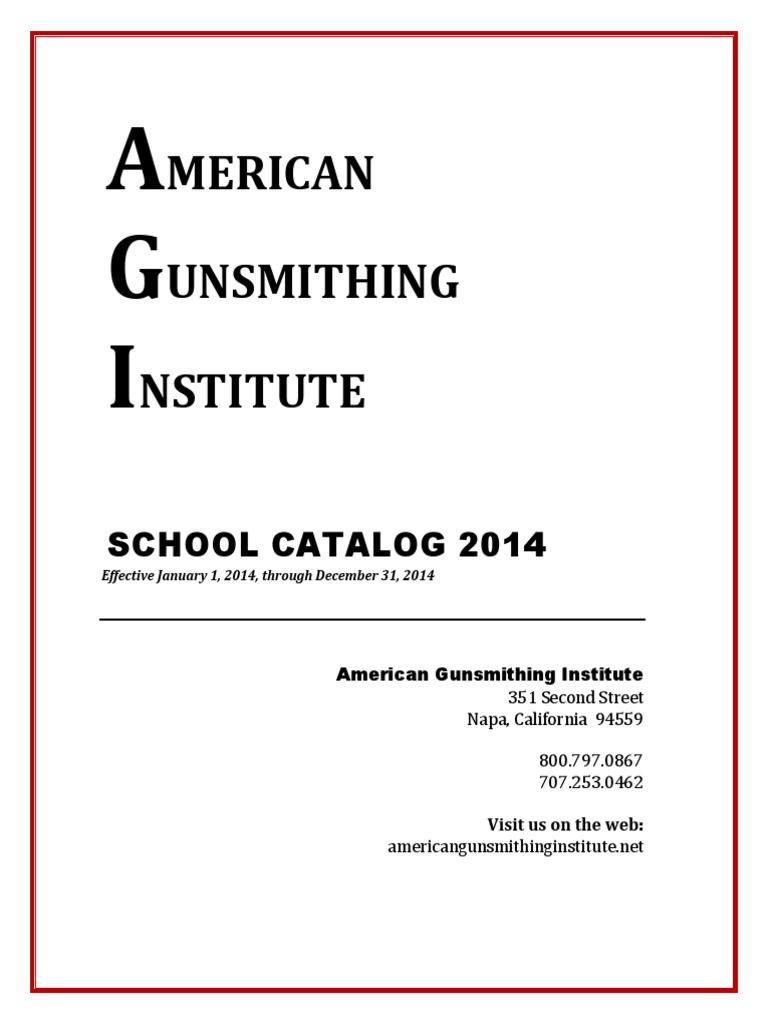 Agi Catalog Distance Education Rifle