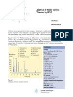Determination of Water Soluble Vitamins