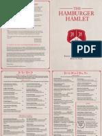 The Hamburger Hamlet Menu