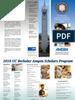 2010 UCB Amgen Scholars Program Brochure