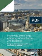 Improving EE of Buildings