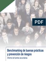 Bechmarking buenas prácticas y prevención de riesgos