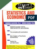 7 Statistics and Eco No Metrics (Schaum's Outline)