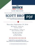 Scott Brown Harvard Club