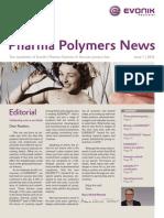Evonik Pharma Polymers News 1 2014