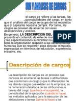 Descripcion de Analisis de Cargo