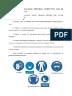 Manual de Seguridad Industrial y Plan de Mantenimiento