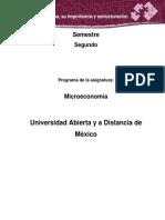 MICROECONOMIA Unidad 3. La Empresa, Su Importancia y Estructuración