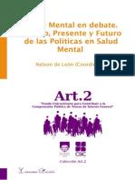 De León, Nelson (Salud Mental en Debate. Pasado, Presente y Futuro de Las Polìticas en Salud Mental)