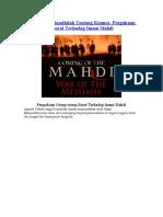 Kajian Hadis Rasullulah Tentang Kiamat- Pengakuan Orang-orang Barat Terhadap Imam Mahdi -warfeel-efairy