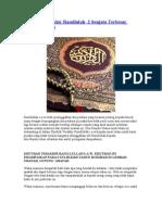 Khutbah Terakhir Rasullulah- 2 Senjata Terbesar Umat Islam -warfeel-efairy
