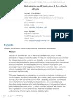 Disability, Economic Globalization and Privatization_ a Case Study of India _ Hiranandani _ Disability Studies Quarterly