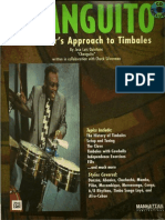 A Master's Approach to Timbales-Changuito