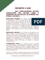 Ley de Transito, Transporte, Etc.