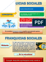 FRANQUICIAS SOCIALES