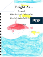 As Bright as Anthology From Sarah McKinstry Brown's Residency