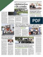 26-08-2014 Solicitan a ejidatarios ubicar robo de crudo