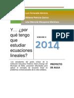 PROYECTO de AULA_fesa_ecuaciones Lineales