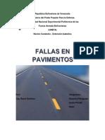 informe pavimentos