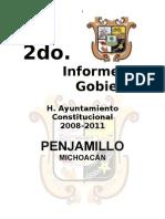 Penjamillo Michoacan Segundo Informe de Gobierno
