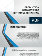 Producción Automatizada Sistemas Cad