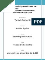 Definición de Tecnología Educativa yaribel