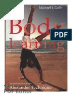 Body Learning Michael Gelb