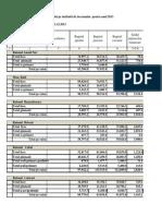 Executarea Bugetului Scoli 2013